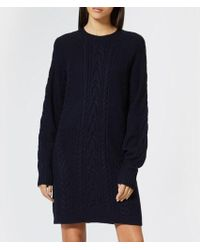 Polo Ralph Lauren - Women's Aran Knitted Dress - Lyst