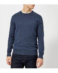 Polo Ralph Lauren - Men's Pima Cotton Crew Neck Knitted Jumper - Lyst