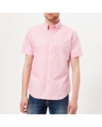 Polo Ralph Lauren - Men's Short Sleeve Palm Jacquard Shirt - Lyst