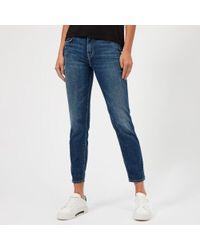 J Brand - Women's Johnny Mid Rise Boyfit Jeans - Lyst