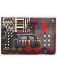 Paul Smith | Accessories Men's Mini Print Credit Card Case | Lyst