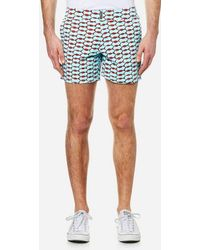 Vilebrequin - Men's Merise All Over Print Swim Shorts - Lyst