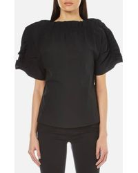 MSGM - Women's Crispy Top - Lyst
