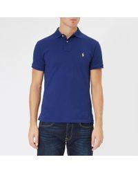 e9a6a2d42e6 Polo Ralph Lauren T-Shirts   Polo Shirts Online Sale - Lyst