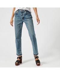 Helmut Lang - Women's Straight Jeans - Lyst