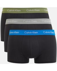 CALVIN KLEIN 205W39NYC - Men's 3 Pack Trunk Boxer Shorts - Lyst