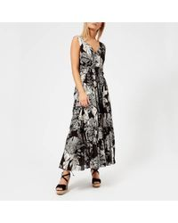 See By Chloé - See By Chloe Women's Palm Print Maxi Dress - Lyst