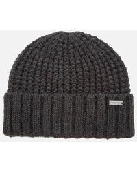 Michael Kors   Men's Dashed Rib Cuff Hat   Lyst