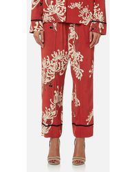 McQ - Women's Piping Pin Track Trousers - Lyst