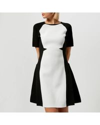 Karl Lagerfeld - Women's Flare Dress - Lyst