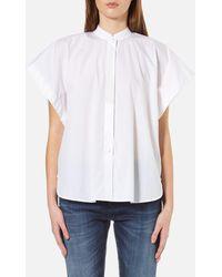 Helmut Lang - Short Sleeve Shirt - Lyst