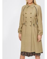 A.P.C. - Women's Jackie Trench Coat - Lyst