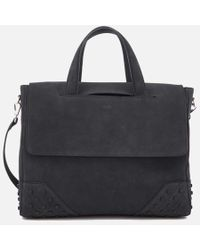 Tod's | Men's Suede Gommino Shopping Bag | Lyst