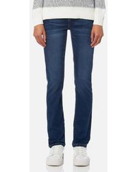 Barbour - Women's Essential Slim Jeans - Lyst