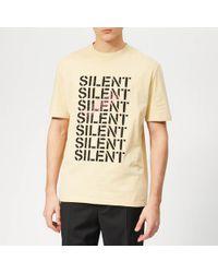 Lanvin Multi Silent T-shirt - Natural