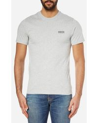 Barbour - Men's Small Logo Tshirt - Lyst
