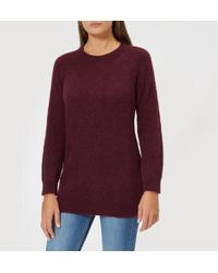 Barbour - Women's Olivia Crew Neck Sweatshirt - Lyst