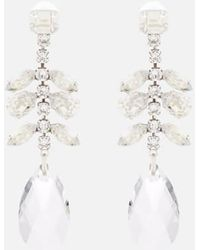 Isabel Marant - Women's Crystal Drop Peace Earrings - Lyst