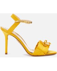 Charlotte Olympia Satin High Sandals