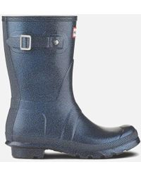 HUNTER - Women's Original Starcloud Short Wellies - Lyst