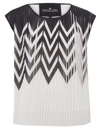 Designers Remix - Women's Tilt Graphic Top - Lyst