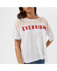 Wildfox - Exersighs Short Sleeve T-shirt - Lyst