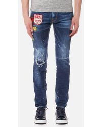 DSquared² | Men's Cool Guy Patch Detail Jeans | Lyst