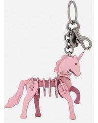 COACH - Women's Small Unicorn Puzzle Bag Charm - Lyst
