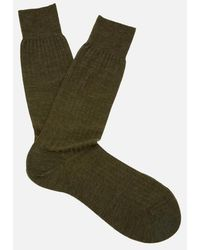 Pantherella - Labernum Merino Rib Socks - Lyst