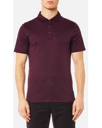 Michael Kors | Men's Sleek Mk Polo Shirt | Lyst
