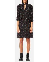 COACH - Women's Western Shirt Dress - Lyst