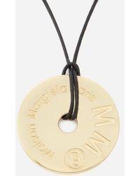 MM6 by Maison Martin Margiela - Maison Margiela Women's Washer Necklace - Lyst
