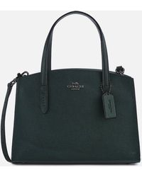 COACH - Metallic Charlie 28 Carryall Bag - Lyst