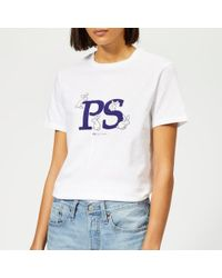 PS by Paul Smith - Women's Ps Bunny Tshirt - Lyst