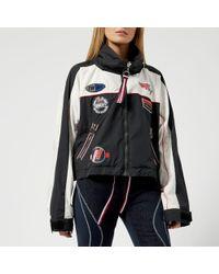 Tommy Hilfiger - Women's Gigi Hadid Windbreaker Long Sleeve Coat - Lyst