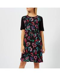 PS by Paul Smith - Women's Acapulco Print T Dress - Lyst