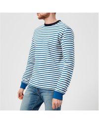 PS by Paul Smith - Men's Regular Fit Breton Sweatshirt - Lyst