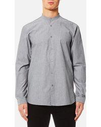 HUGO - Eddison Long Sleeve Shirt - Lyst