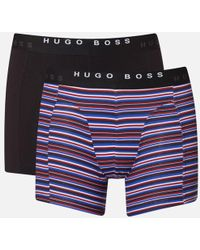 BOSS | Men's 2 Pack Print Boxer Briefs | Lyst