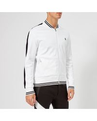 Polo Ralph Lauren - Bomber Collar Track Top - Lyst