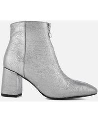 Rebecca Minkoff - Women's Stefania Heeled Ankle Boots - Lyst