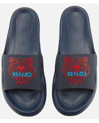 KENZO - Men's Tiger Slide Sandals - Lyst