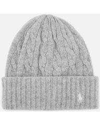 Polo Ralph Lauren - Wool Hat - Lyst