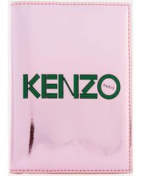 KENZO - Logo Passport Holder - Lyst