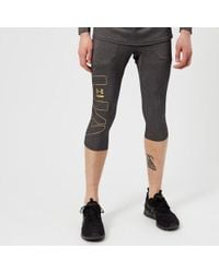 Under Armour - Men's Perpetual Half Leggings - Lyst