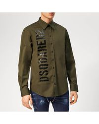 DSquared² Military Shirt - Green
