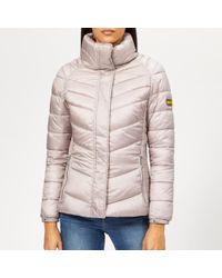 Barbour - Women's Camier Quilted Coat - Lyst