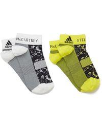 adidas By Stella McCartney - Women's Low Cut Socks - Lyst