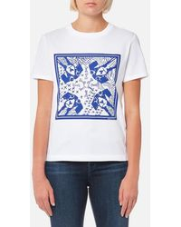 PS by Paul Smith - Women's Printed Dog Tshirt - Lyst