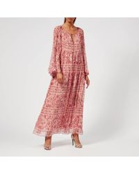 Zimmermann - Castile Flared Sleeve Dress - Lyst